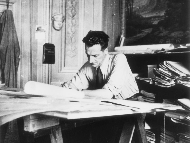 """Lettera d'archivio di Giovanni Michelucci: """"La felicità dell'architetto"""""""