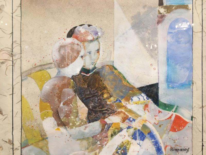 Vasilis Kypraios, memorie di Patmos nell'arte contemporanea greca