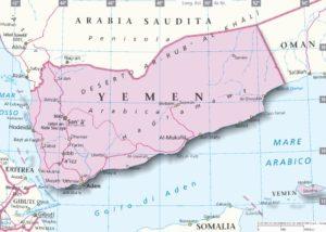 mappa yemen storia nord du houthi ribelli governo storia cultura