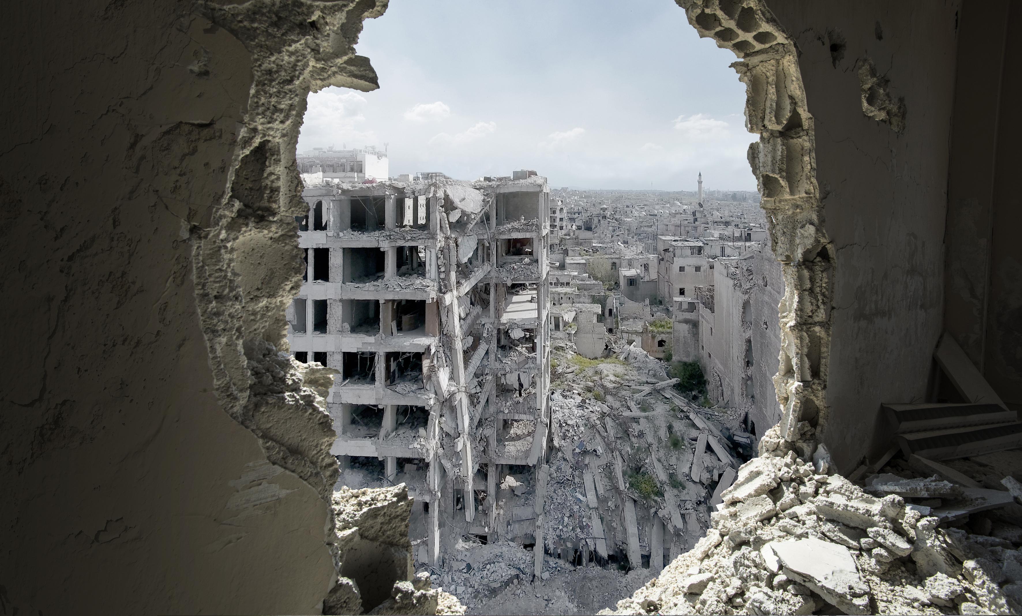 Aleppo. Come si uccide una città? mostra curata da Domenico Quirico a Palazzo Mazzetti Asti Piemonte cultura mostre eventi approfondimenti