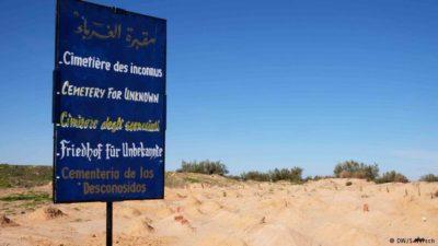 l'angelo dei migranti degna sepoltura alle vittime del mediterraneo zarzis tunisia cimitero degli sconosciuti