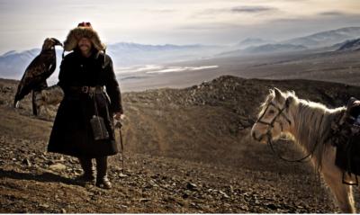 asia mongolia Kazakistan caccaitori aquile confine cultura culture tradizione