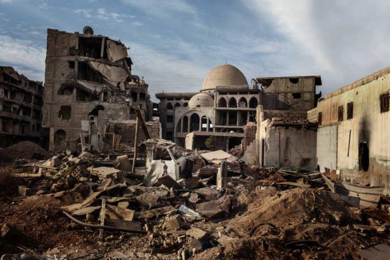 Luca CAtalano gonzaga sirya darayya gamsci odio gli indifferenti la guerra perché