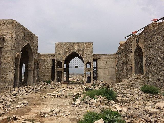 niniveh distrutta iraq medioriente isis guerra