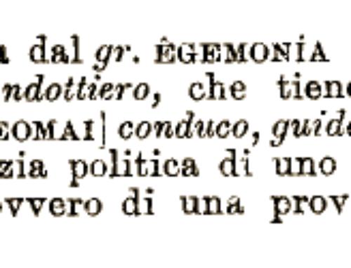 Egemonia e subalternità, rileggere i concetti di Antonio Gramsci (per capire le rivalità nazionali e internazionali)